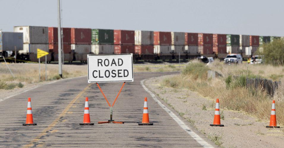 Estrada interditada