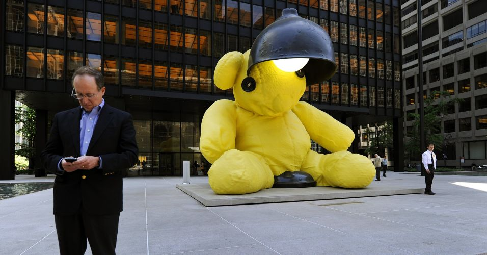 Escultura em NY