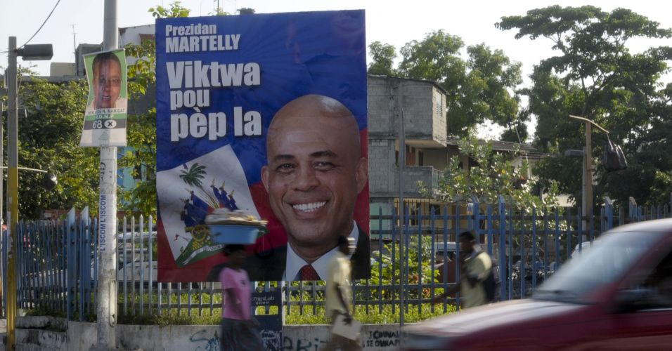 Novo presidente do Haiti