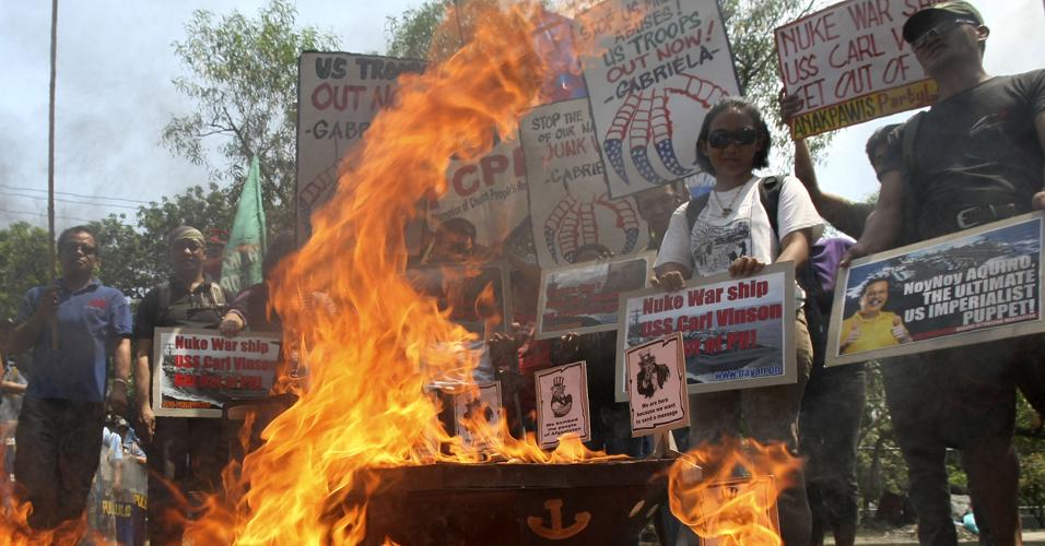 Protesto filipino