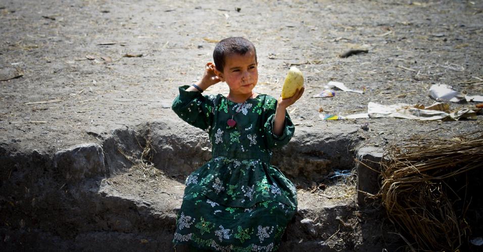 Menina em Abbottabad