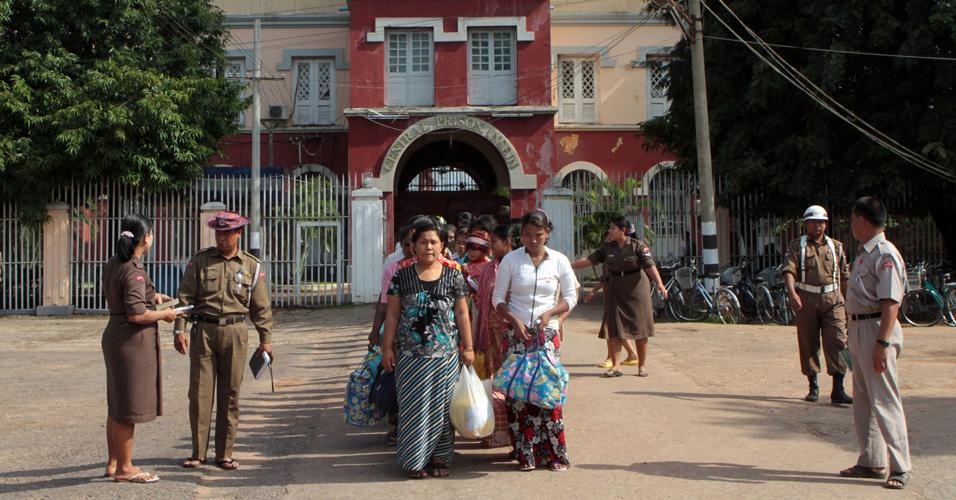 Liberdade em Mianmar