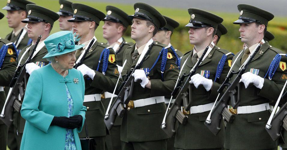 Rainha Elizabeth na Irlanda