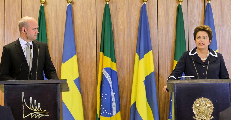 Dilma e convidado