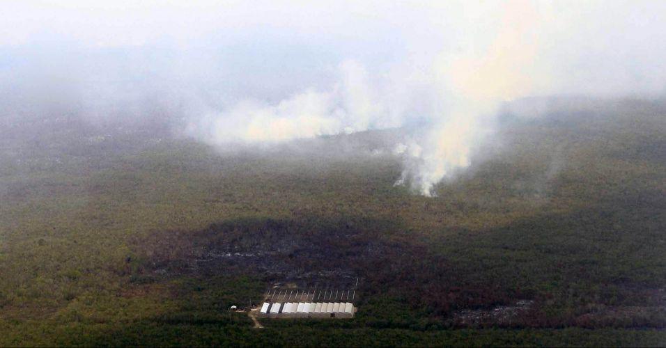 Incêndio no México