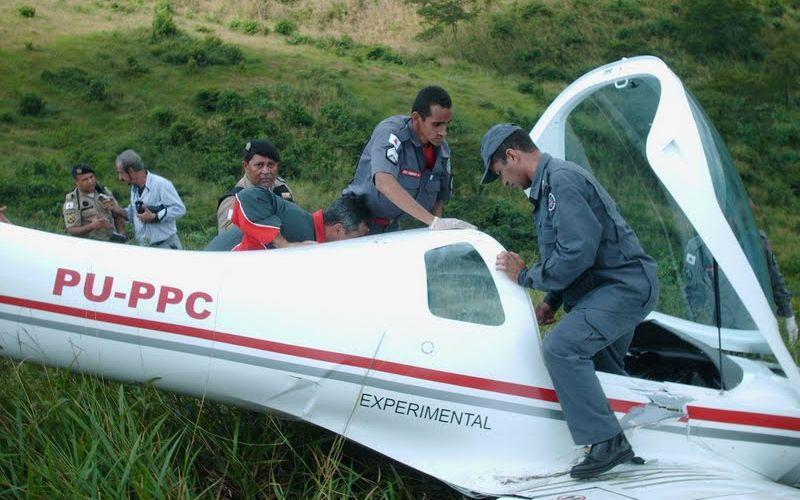 Acidente com avião em MG