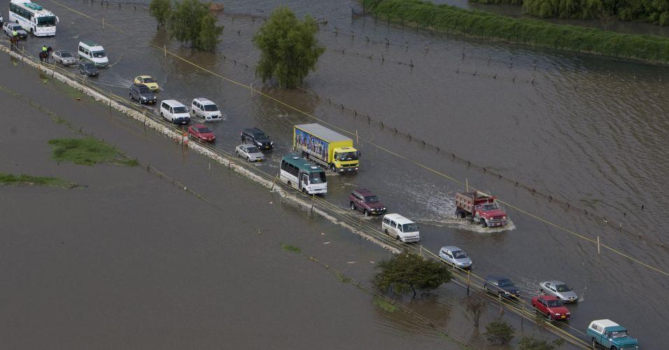 Inundações na Colômbia