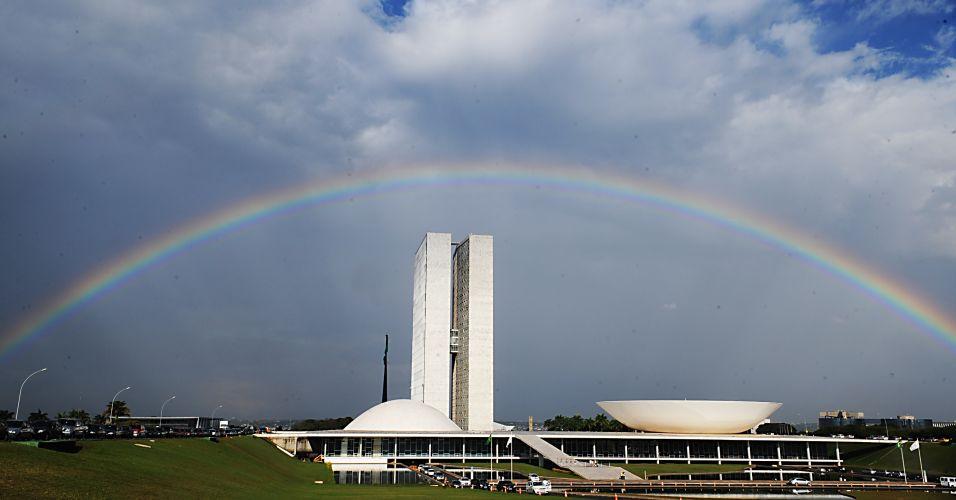 Arco-íris em Brasília
