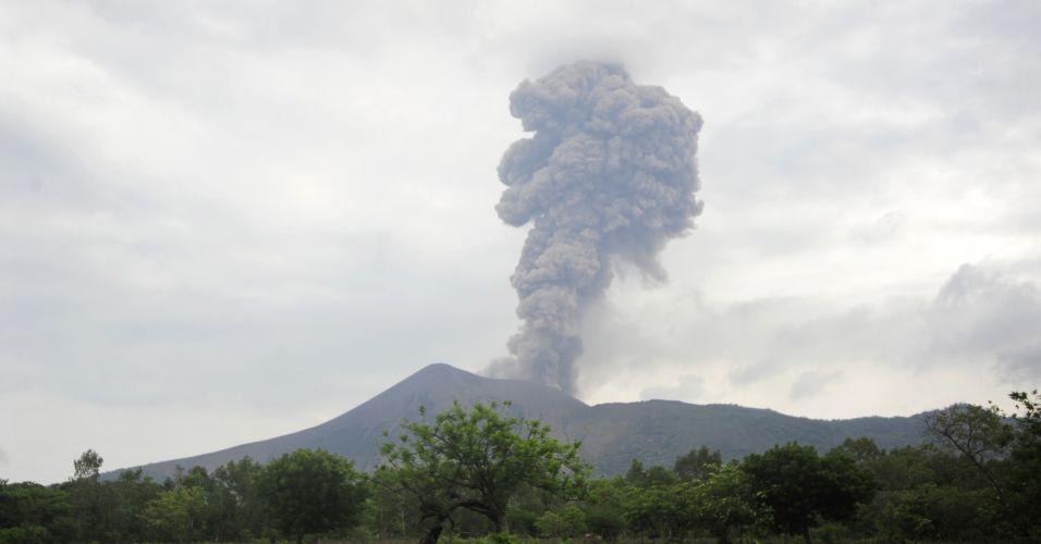 Vulcão na Nicarágua