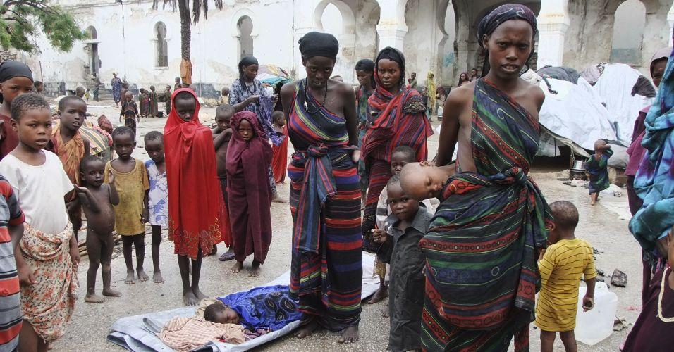 Enchentes na Somália