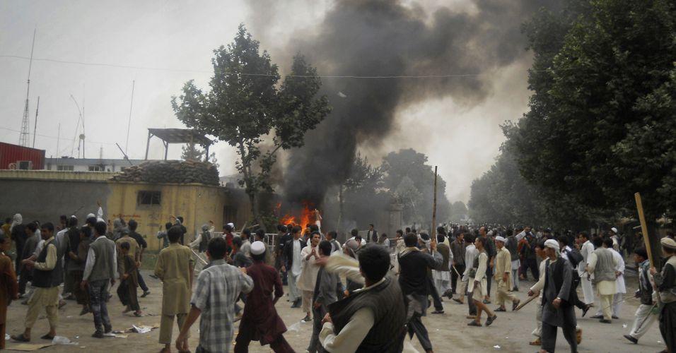 Protesto no Afeganistão