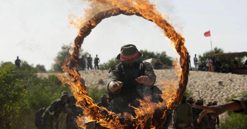 Exercícios em Gaza