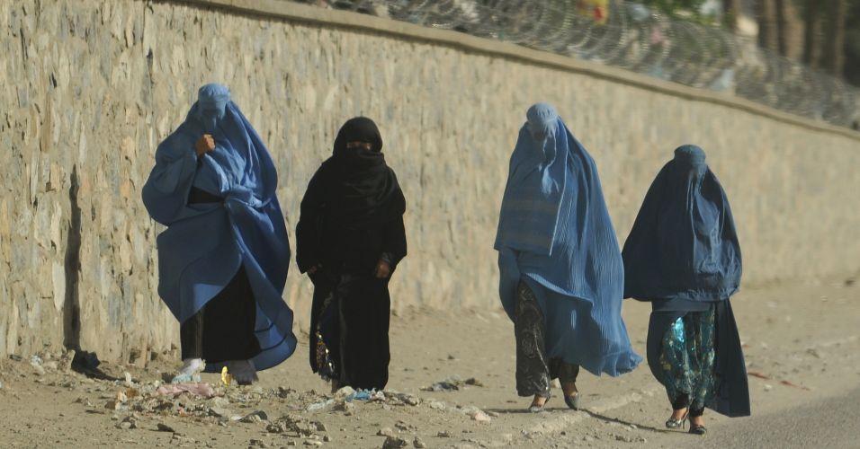 Rescaldo de protestos em Cabul