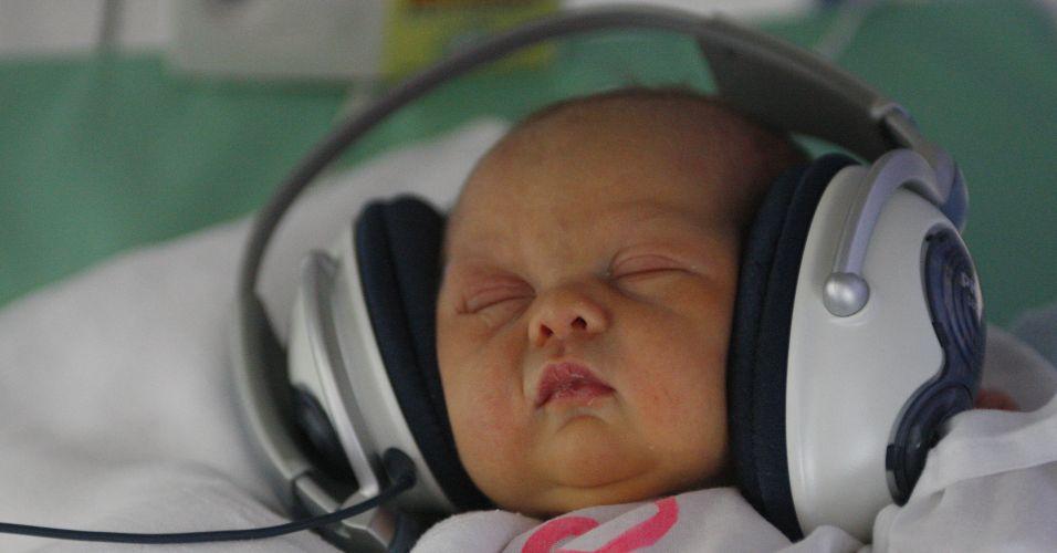 Musicoterapia para recém-nascidos