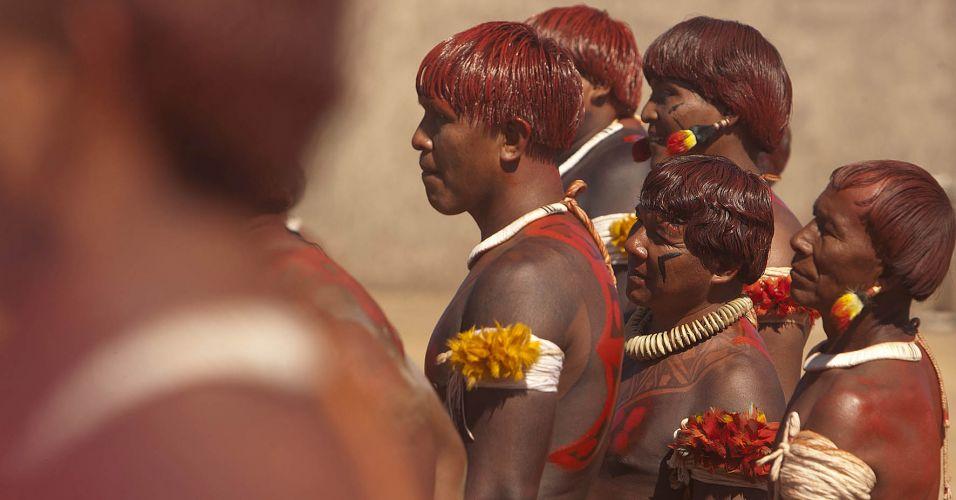 Índios Waurá