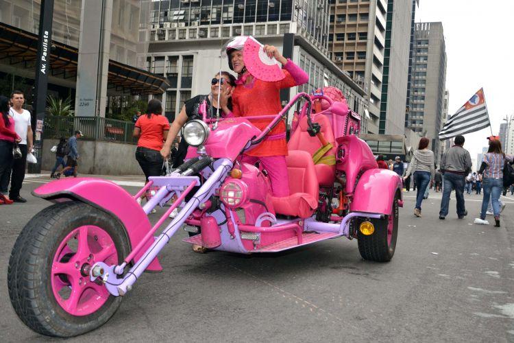 Veículo rosa