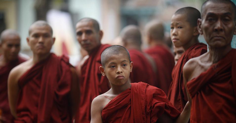 Funeral em Mianmar