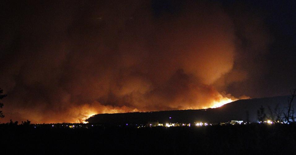 Incêndio nos EUA