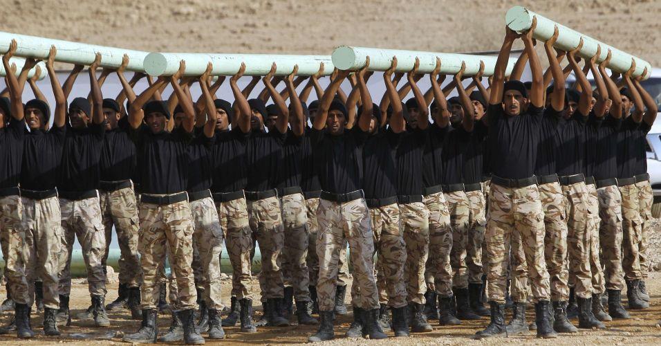 Treinamento na Arábia Saudita