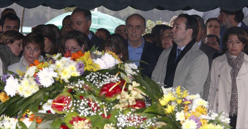 Enterro de Paulo Renato Souza