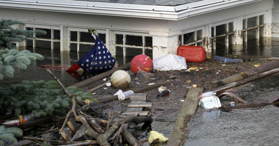 Enchente nos EUA