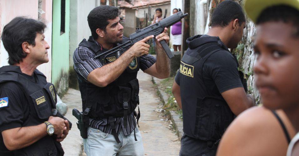 Operação policial em PE