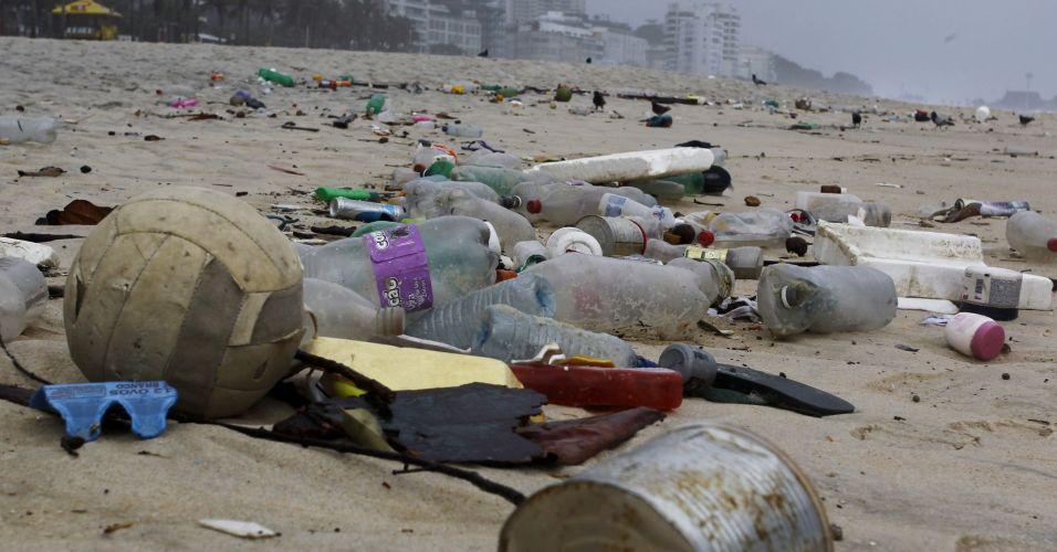Lixo em Ipanema