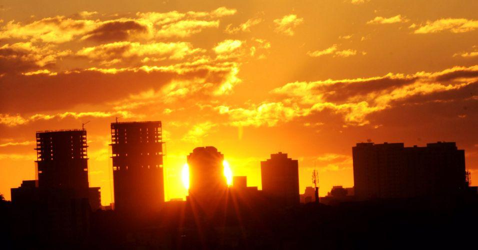 Pôr-do-sol no ABC