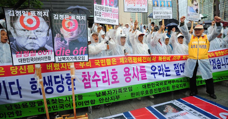 Protesto na Coreia