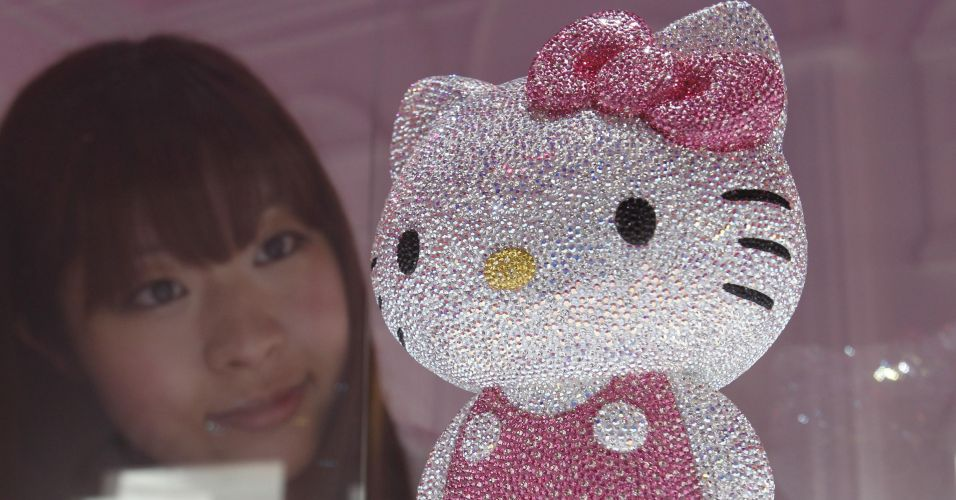 Hello Kitty de cristal