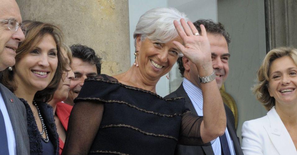 Lagarde em Paris