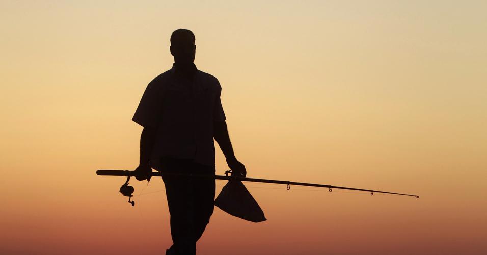 Pescador egípcio