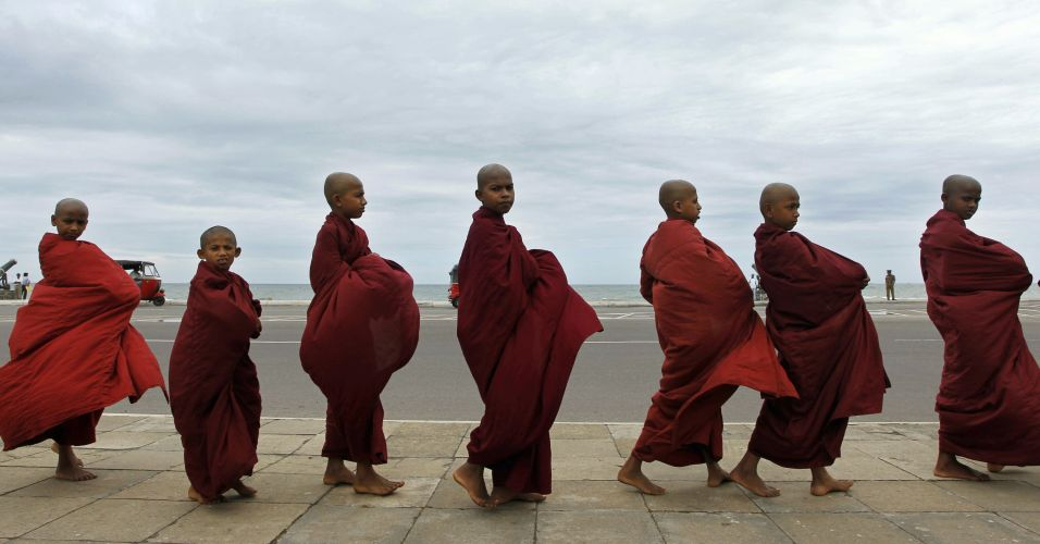 Monges no Sri Lanka