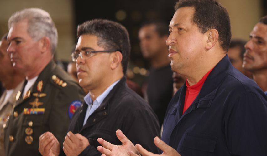 Chávez em missa