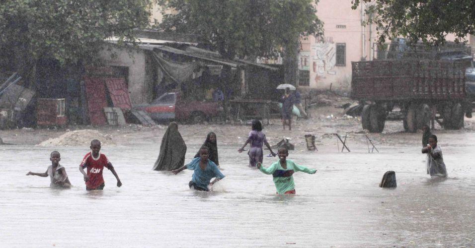 Chuva na Somália