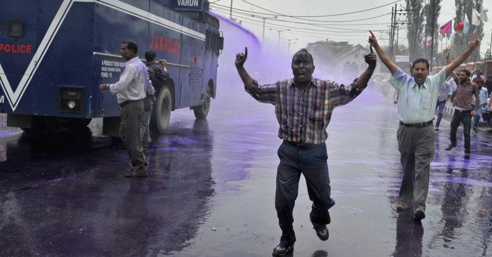 Protesto na Caxemira