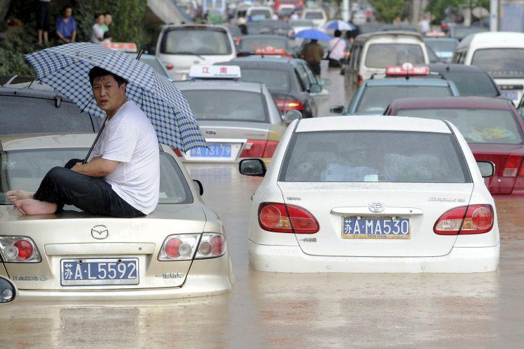 Chuvas na China