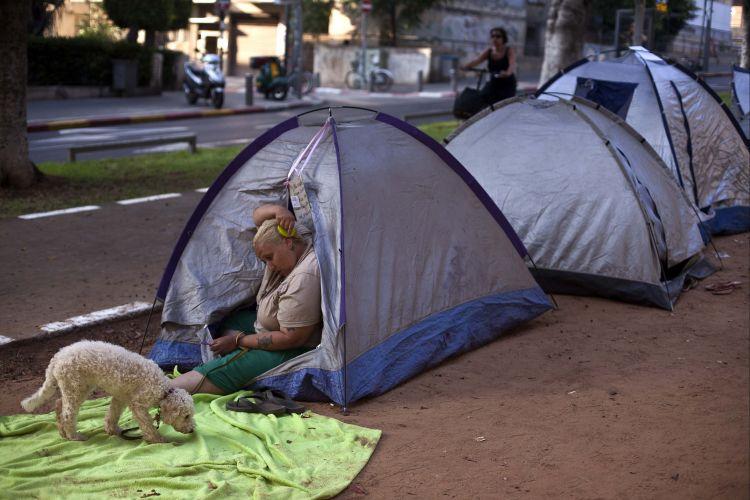 Tenda em Israel