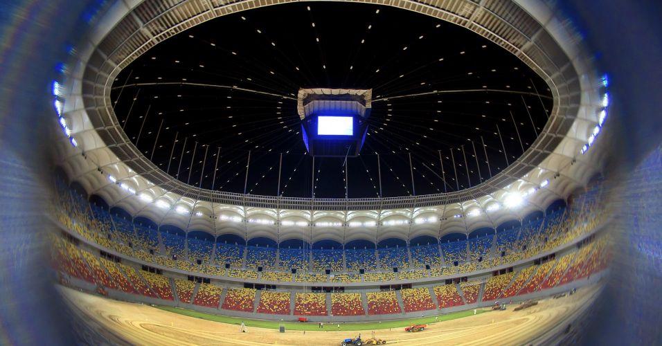 Estádio na Romênia