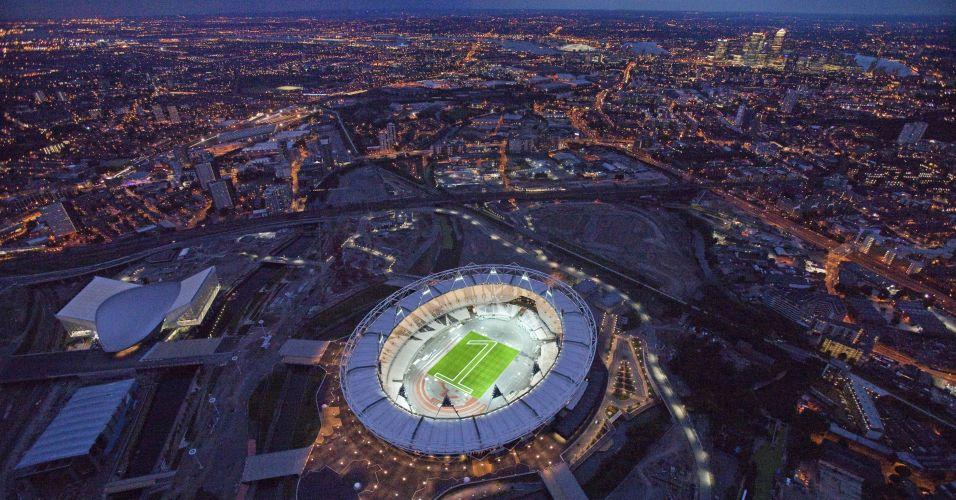 Estádio na Inglaterra