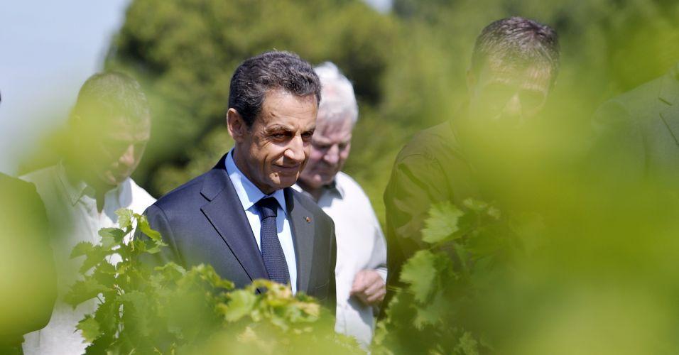 Sarkozy em platação