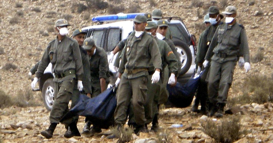 Acidente no Marrocos