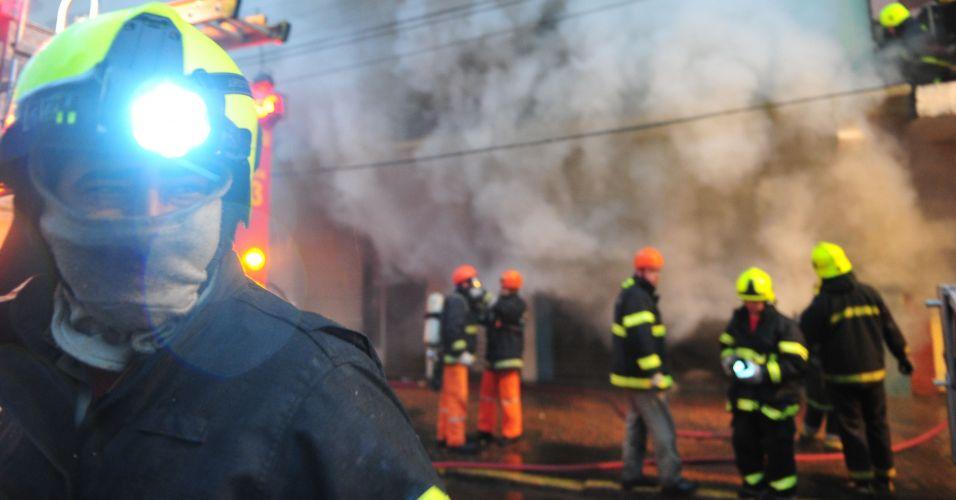 Incêndio em Porto Alegre