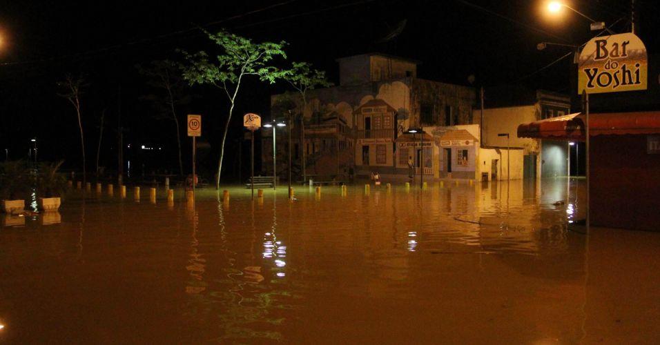 Enchente na Vale do Ribeira
