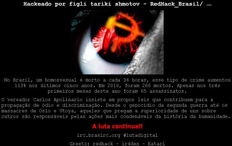 Hackers em defesa da causa gay