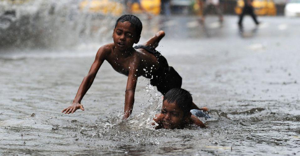 Chuva na Índia