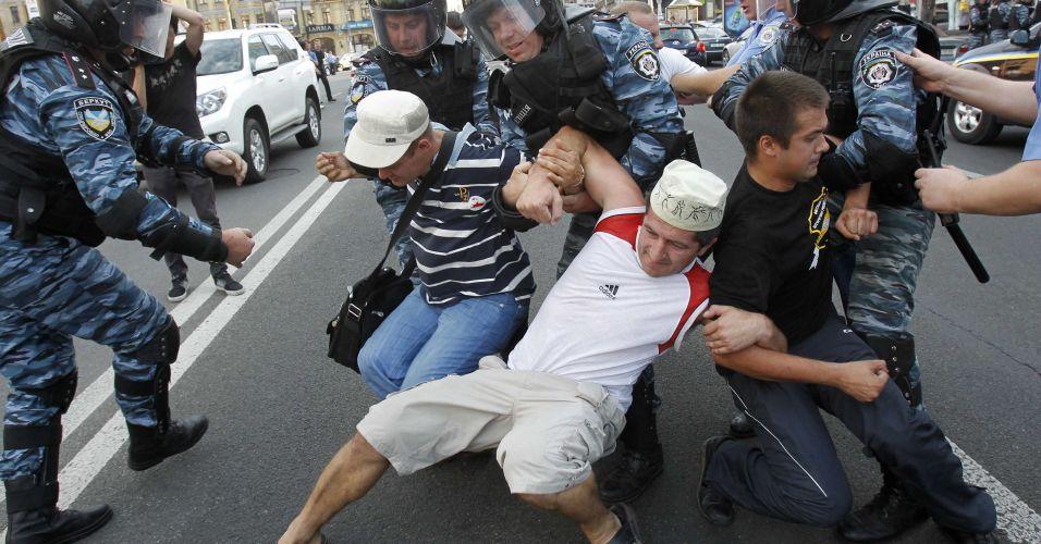Tensão em Kiev