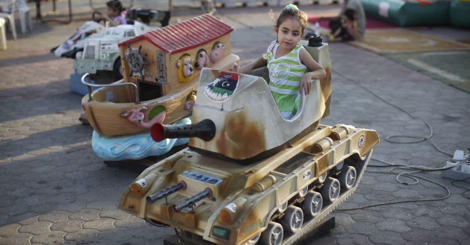 Tanque de brinquedo