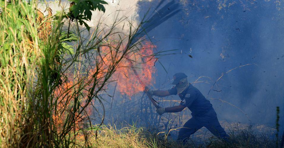 Incêndio no Vale do Paraíba