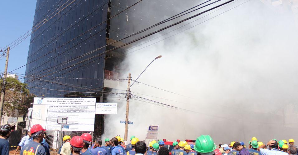 Incêndio em Goiânia